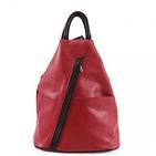 The Soft Leather Backpack Shoulder bag